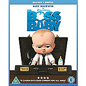 The Boss Baby Blu-ray