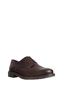 F&F Tumbled Leather Gibson Shoes - Brown