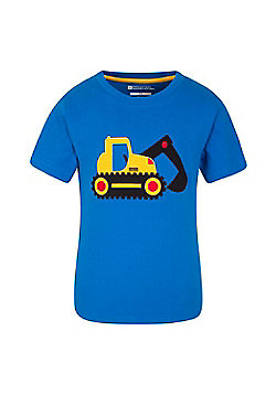 Mountain Warehouse DIGGER KIDS TEE - Blue