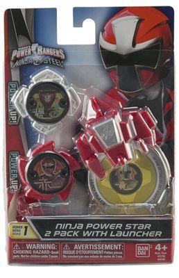 Power Rangers Ninja Power Star Pack With Launcher Assortment 2