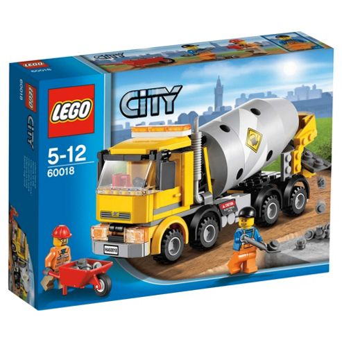 LEGO 60018 City Town Cement Mixer