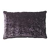 Bahne Plum Velvet Rectangular Cushion designed by Margit Brandt 60 x 40 cm