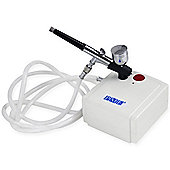PME Airbrush and Compressor Kit with UK Plug