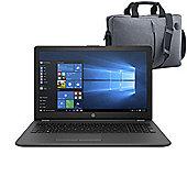 """HP 250 G6 15.6"""" Laptop Intel Core i3-6006U 8GB 256GB SSD Windows 10 with Case - 2SY45ES#ABU"""