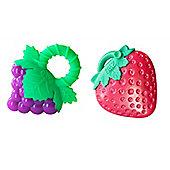 Razbaby Bundle Raz Grapes Teether And Raz Fresa Teether 2 Items Supplied