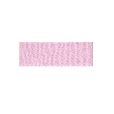 Essential Trimmings Polycotton Bias Binding, 2.5m x 25mm, Pink