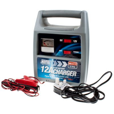 Battery Charger 12 amp - suitable for engine sizes over 1800cc