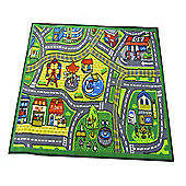 Matrix Kiddy Happy Town Multi 80x120 Nylon Mat