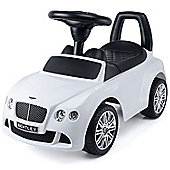 Bentley Continental GT Speed Ride-On Car Toy - White
