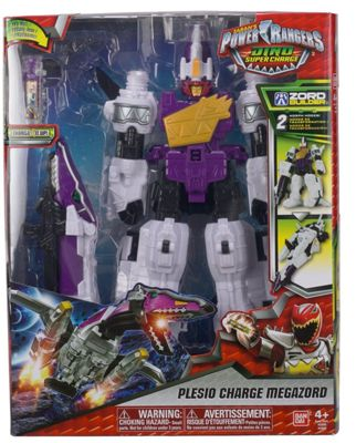 Power Rangers Plesio Megazord Deluxe Dino Supercharge Action Figure