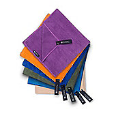 Micro Towelling Travel Towel Large 130x70cm - Purple