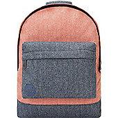Mi-Pac Backpack - Herringbone Mix Terracotta/Navy