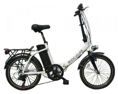 Byocycles Chameleon LS Folding 10Ah Electric Bike White