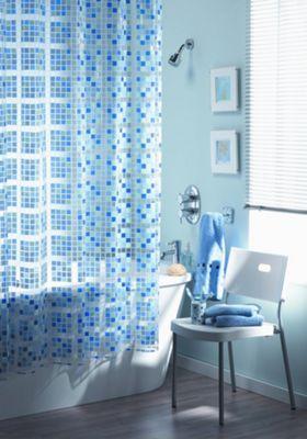 Blue Canyon Shower Curtains Peva Mosaic Curtain
