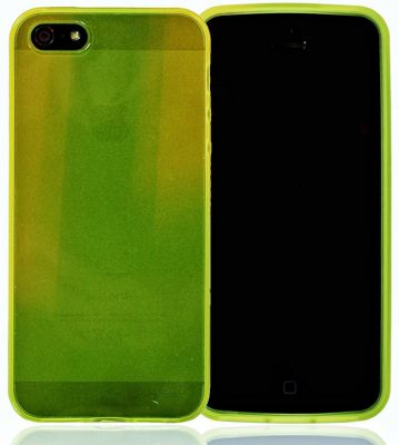 U-bop gSHELL Tough All-Body Gel Case Smoke Yellow - For Apple iPhone 5