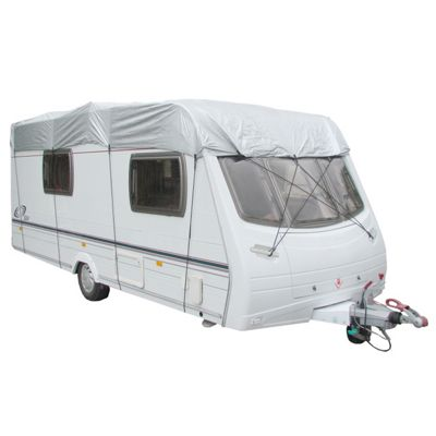 Caravan protective top cover - fits caravans between 5.0M - 5.6M (17'-19') length