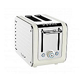 Dualit Architect 2 Slot Toaster - Canvas with Stainless Steel Body