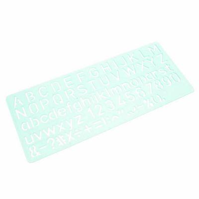 Linex Standard Lettering Stencil - 10mm