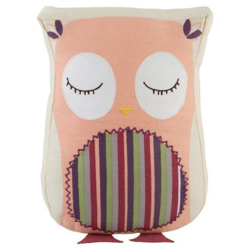 Kids Owl Woodland Cushion