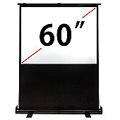 "60"" VonHaus Floor Standing Projector Screen"