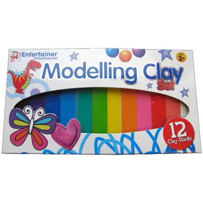 The Entertainer 12 Piece Modelling Clay Set