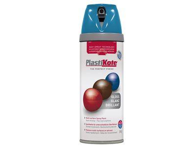 Plasti-kote Twist & Spray Gloss Exotic Sea 400ml