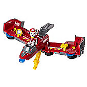 Paw Patrol - Flip & Fly 2-in-1 Transforming Vehicle - Marshal