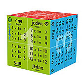 ZooBooKoo Educational 1 to 12 Multiplication Tables Cube Book (English, Polish, Romanian and Czech)