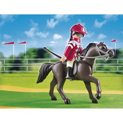 Playmobil Arabian Horse with Jockey