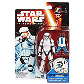 "Star Wars The Force Awakens 3.75"" Figure Snow Mission Stormtrooper - Action Figures"