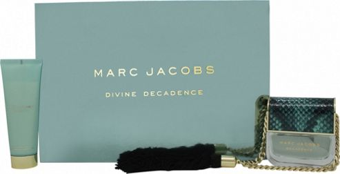 Marc Jacobs Divine Decadence Gift Set 50ml EDP + 75ml Body Lotion For Women