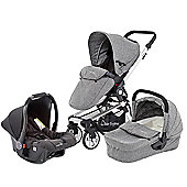 Baby Elegance Beep Twist Travel System - Grey