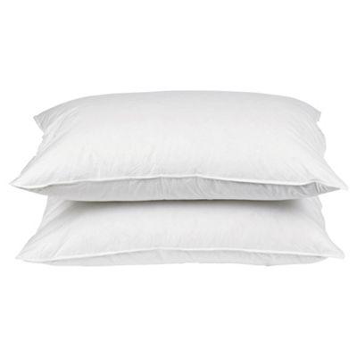 Tesco Firm Anti Allergy Pillow 2 Pack