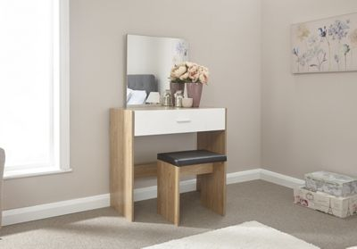 Ottawa Dressing Table Set Oak