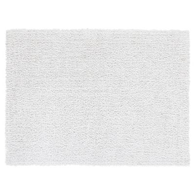 Tesco Standard Reversible Bath Mat White