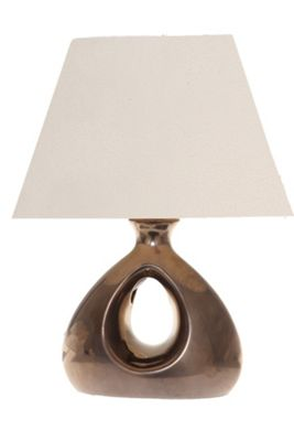 Lighting In:Style Chelsea Triangle Table Lamp in Bronze