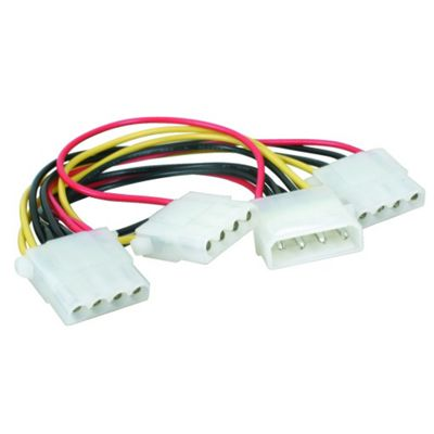 Maplin Power Supply 3-way Splitter Cable