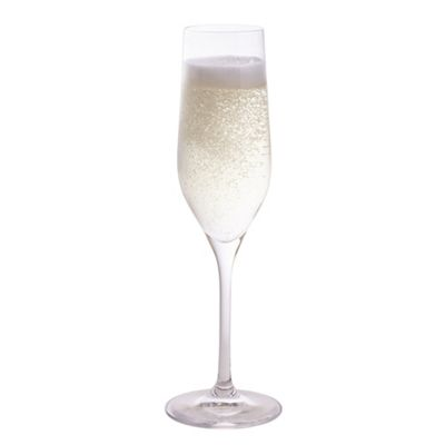 Dartington Crystal Bar Essentials Champagne Flute Glasses Pack of 2