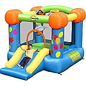 Party Slide and Hoop bouncy Castle