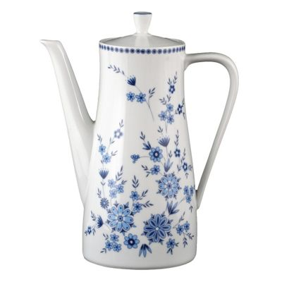Seltmann Weiden Doris Bavarian Blue Coffee Pot