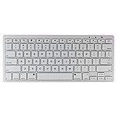 Kit Wireless Bluetooth Tablet Keyboard White