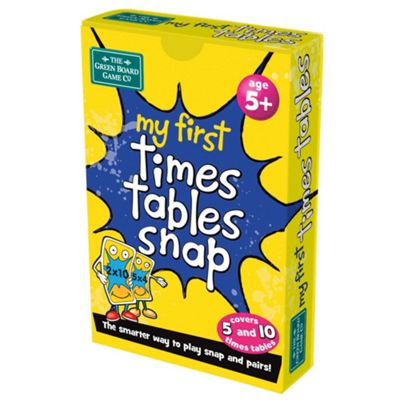 BrainBox My First Times Tables Snap Card Game