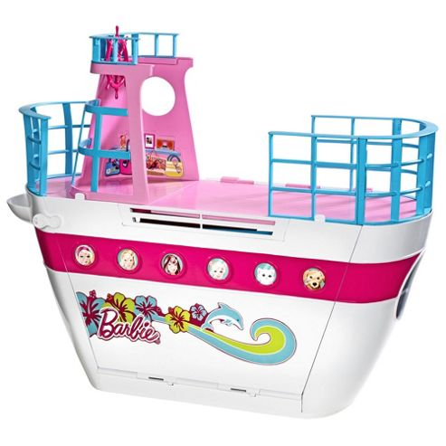 Barbie Sisters' Cruise Ship Playset