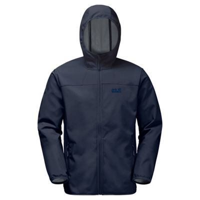 Jack Wolfskin Mens Northern Point Softshell Night Blue L