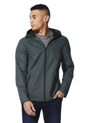F&F Hooded Ripstop Jacket Green XS