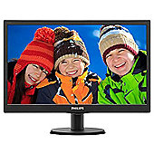"Philips V-line 203V5LSB26 49.5 cm (19.5"") LED Monitor - 16:9 - 5 ms"