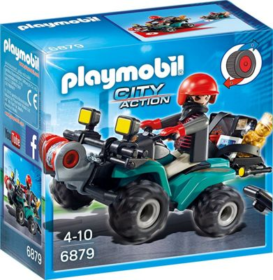 Playmobil City Action Robber's Quad
