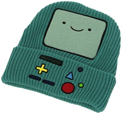 Adventure Time - Beemo Beanie,Blue - Accessories