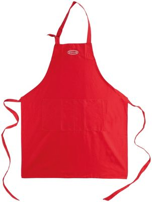 Stellar Large Double Pocket Red Apron