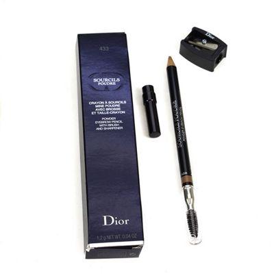 Dior Sourcils Poudre Blonde Powder Eyebrow Pen 433 Ash Blonde